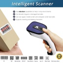 Avenger Barcode Scanner 3 in 1 1D/2D USB Blouetooth